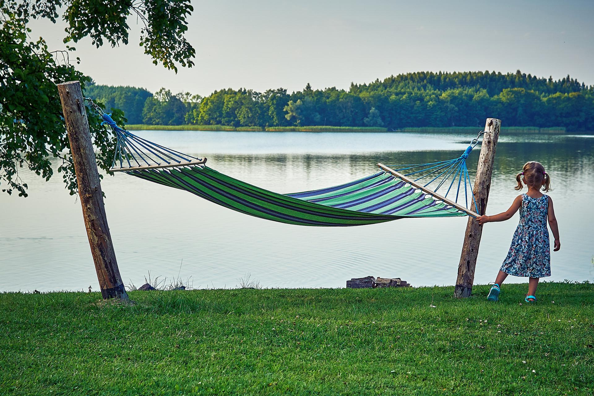 Lawendowe wakacje nad jeziorem